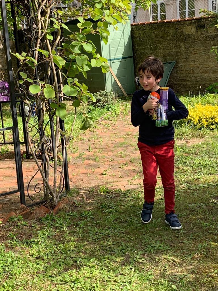 Tout le monde est ravi !!!! le jardin est bien garni, les cloches ont été généreuses !