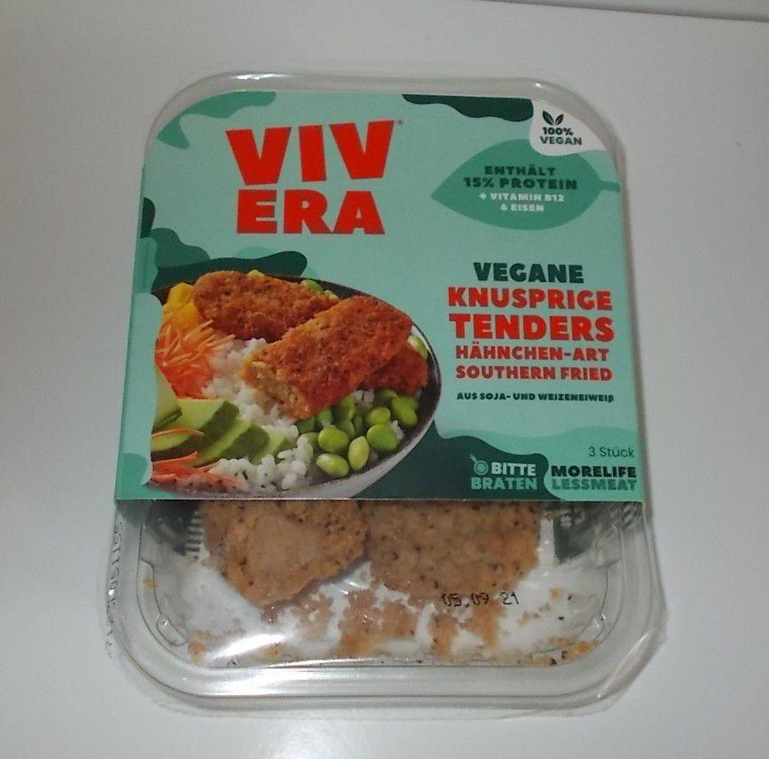 Vivera Vegane knusprige Tenders Southern Fried