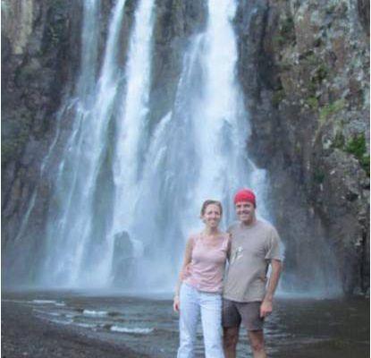La cascade Niagara à Sainte Suzanne - 15 août 2011