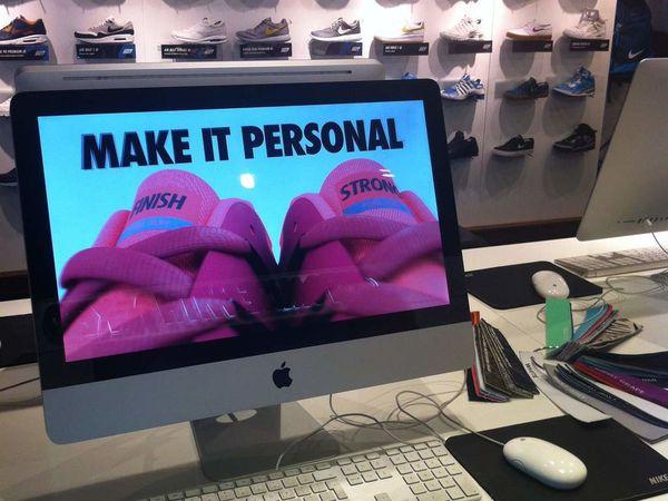 Digital Tour London 2 : La personnalisation produit selon Nike