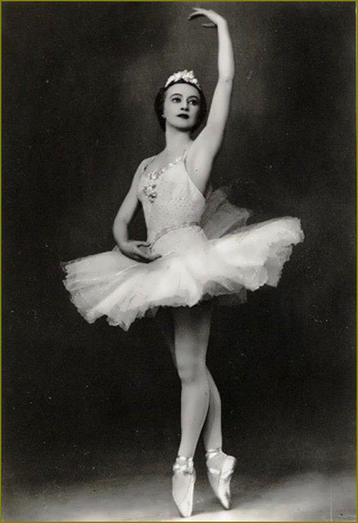 retro - Galina Ulanova - danseuse