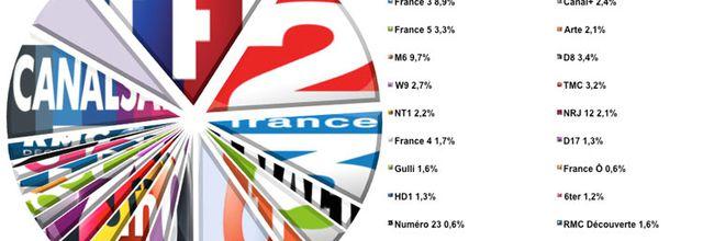 L'audience de la TV du 25 au 31 mai 2015 (semaine 22)