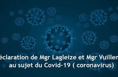 Les 17 consignes liées à l'épidémie de coronavirus de l'Eglise
