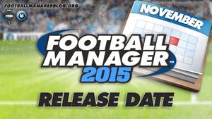 FOOTBALL MANAGER 2015 DISPONIBLE EN NOVEMBRE