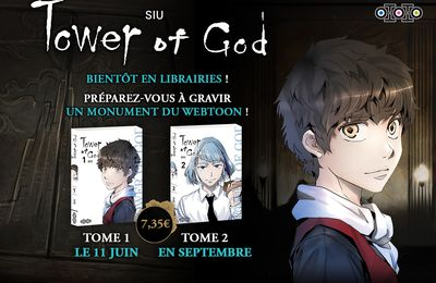 Ototo manga annonce le manga Tower of God