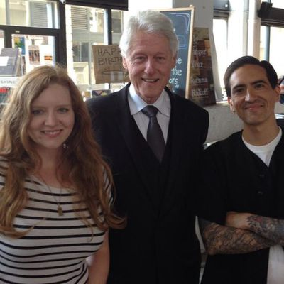 What Books Did Bill Clinton Buy In Brooklyn Yesterday?