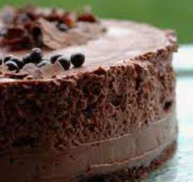 Gateau d'anniversaire aux textures Chocolats