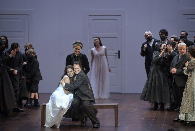15 juin 2021 - La sonnambula(Bellini) au théâtre des Champs Elysées