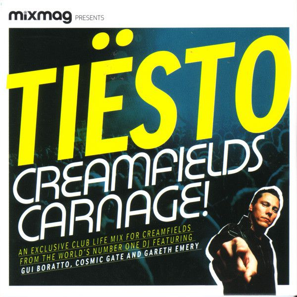 Tiësto compilation Creamfields Carnage, mix, compil, rave party, festival