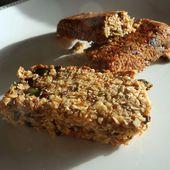 Recette : Barres de céréales sesame et flocons d'avoine - Les Gralettes