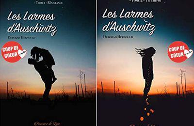 *LES LARMES D'AUSCHWITZ* T1: Résistance - T2: Pitchipoï* Deborah Hernould* Éditions Poussière de Lunes* par Lynda Massicotte*