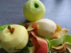 Crumble aux pommes poires myrtilles