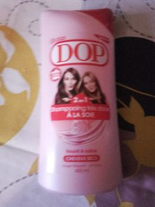 Mon shampoing actuelle