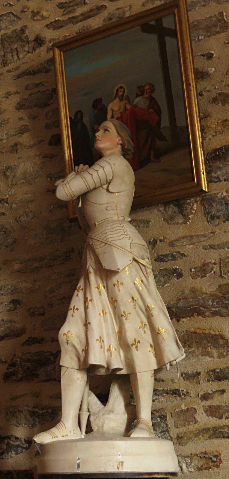 Jeanne d'Arc est partout. Cette fois à Mialet