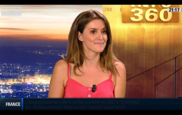 [2012 06 27] FANNY AGOSTINI - BFM TV - LA METEO @20H53