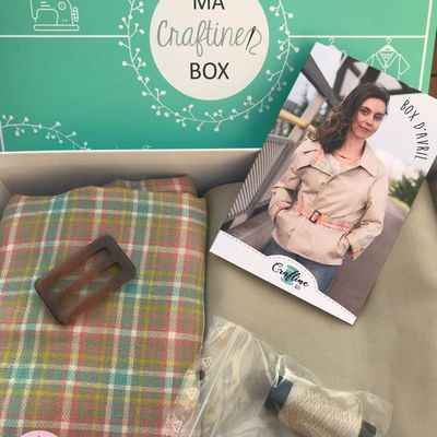 Craftine box d'avril
