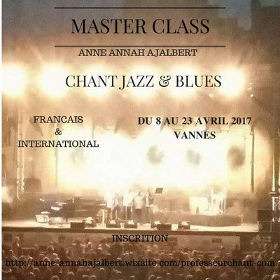MASTER CLASS CHANT JAZZ & BLUES