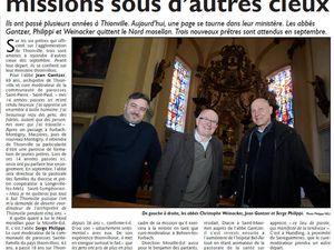Livre de Roland SEBBEN - ALGRANGE Cité aux 4 mines - La paroisse catholique de 1965 à aujourd'hui (10e)