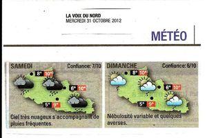 Programme prévisionnel du week-end au Valjoly les 3 et 4 novembre