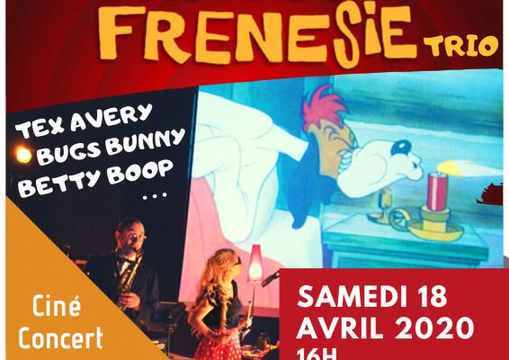 Mesquer - Cartoon Frénésie Trio à la salle Artymès - 29 octobre 2020
