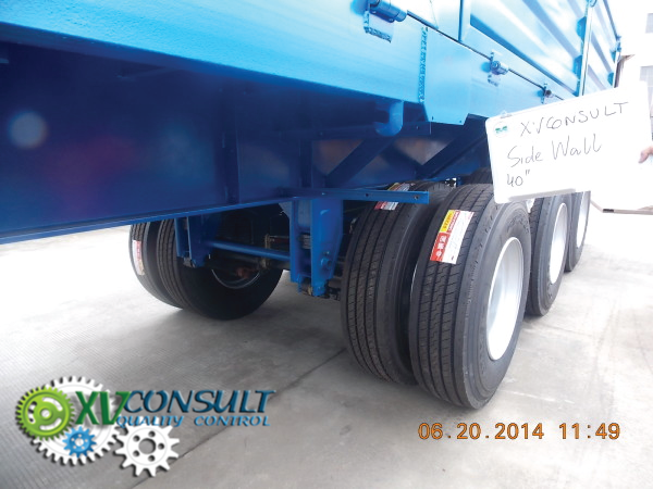 Export China, manufacturing, quality control , semi trailers wall sides 3 axles , transport and export service . :info@xvconsult.com