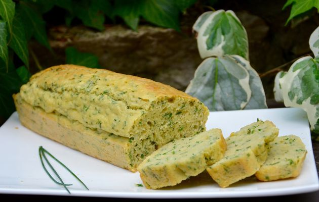 Cake aux fines herbes