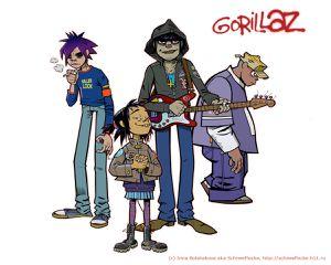 24 años cumple la cantante de Gorillaz, Noodle