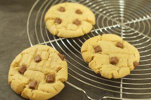 Cookies beurre de cacahuete et pépites de chocolat