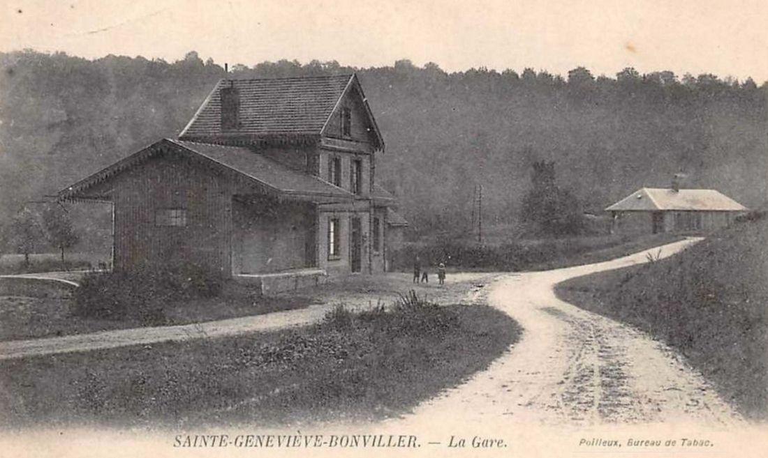 Ancienne Gare de Sainte Geneviève (Oise)-suite 2