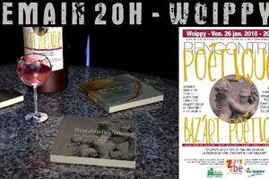 Si par Az'Art zavez du temps... ça va souffler su'l pont des Arts, à 20 h  au Z'art be à Woippy, pour un Bordel de Baz'Art poétique