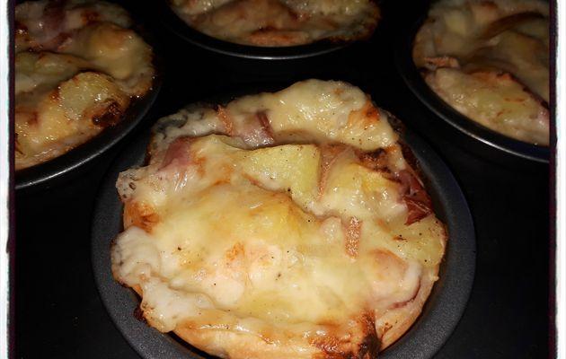 Tartelettes à la raclette