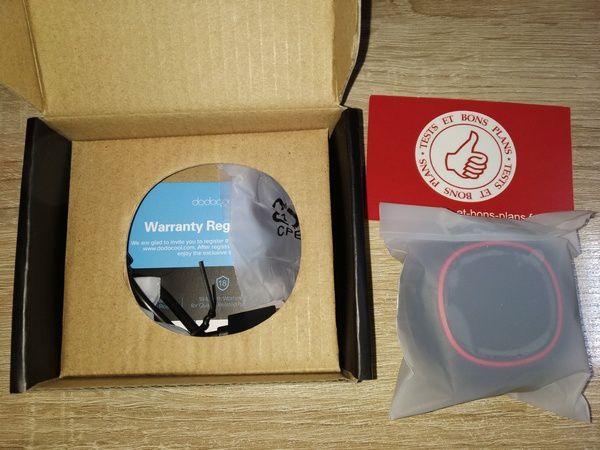 unboxing des écouteurs intra-auriculaires Bluetooth vraiment sans fil dodocool TWS DA189B @ Tests et Bons Plans