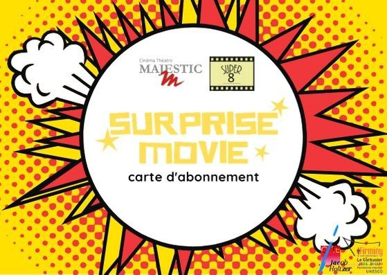 Super 8 lance Surprise Movie, le seul ciné-club surprise !