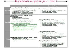 Programmation : La grammaire au jour le jour - tome 3