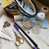 Todolwen (new): Seam Binding Roses~ How To..