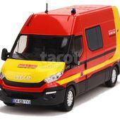 Iveco - Daily Sécurité Civile - Eligor Camions - 1/43 - Autos Miniatures Tacot