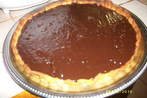 TARTE AU CHOCOLAT ULTRA SIMPLE