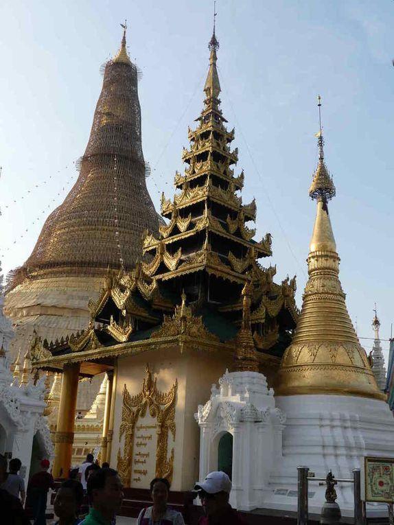 La pagode Shwedagon de Rangon