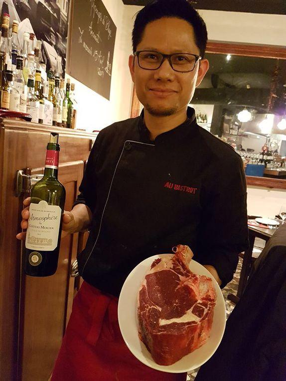 """Bordeaux : """"Au Bistrot"""", cuisine du marché, vins fins & savoir-vivre"""