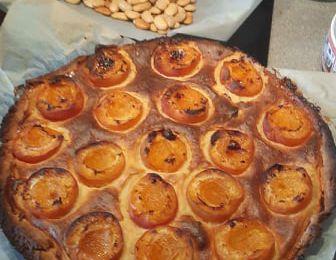 Tarte mousseuse aux abricots :