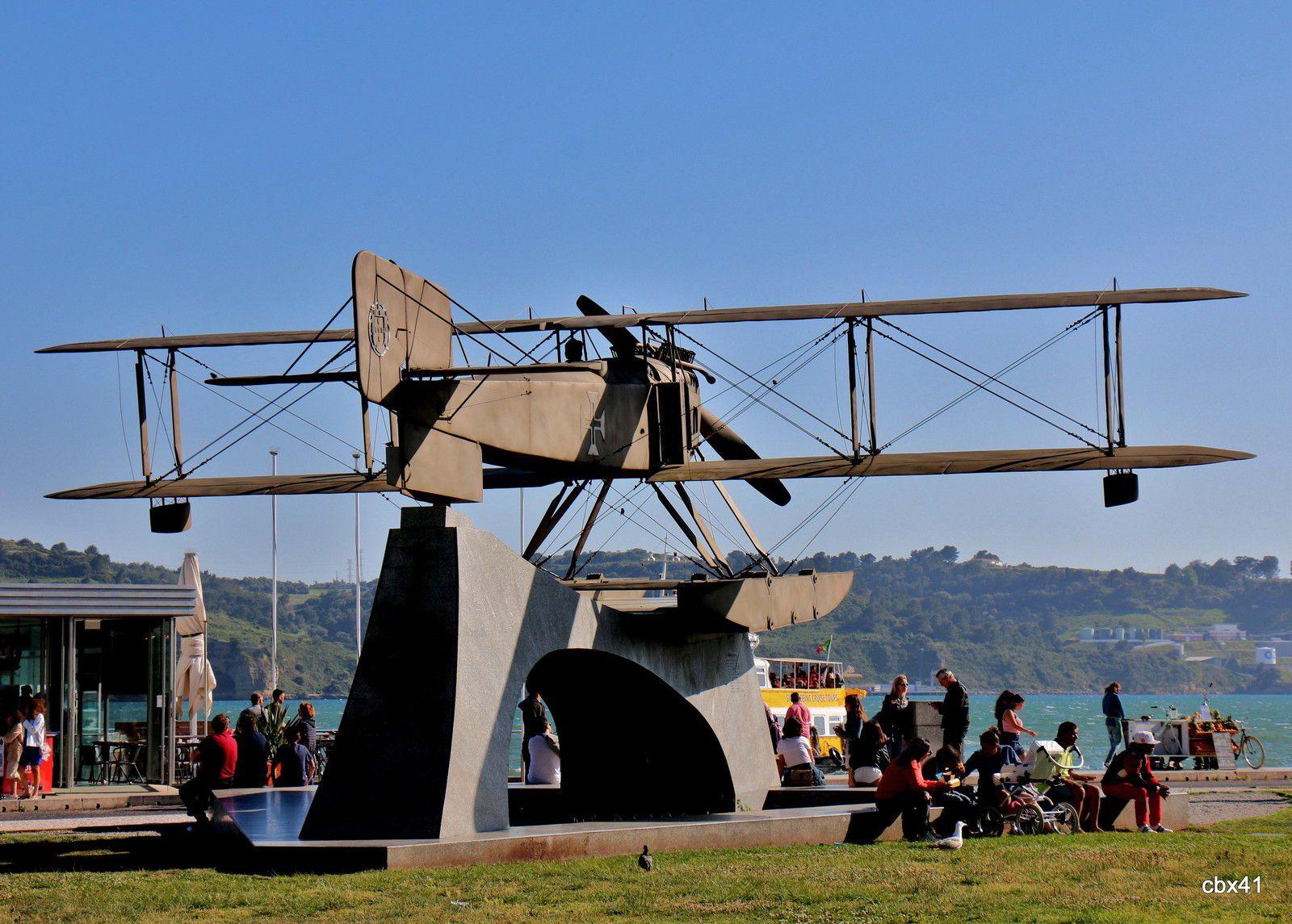 Réplique du Fairey III-B (Santa Cruz) - Lisbonne, Portugal