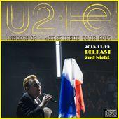 U2 -i+e Tour -19/11/2015 -Belfast Irlande du Nord -SSE Arena - U2 BLOG