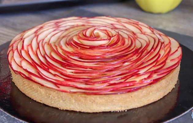 Tarte aux Pommes à la façon du Chef Cedric Grolet
