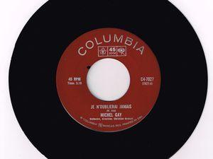 """michel gay, un chanteur français des années 1960 qui fit illusion le temps de trois 45 tours dont le titre """"la solution"""""""