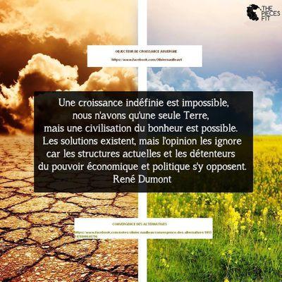 Permaculture, décroissance , autonomie énergétique …. , les alternatives