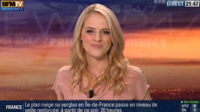 2013 01 25 - CLAIRE ARNOUX - BFM TV - WEEK-END 360 @21H30