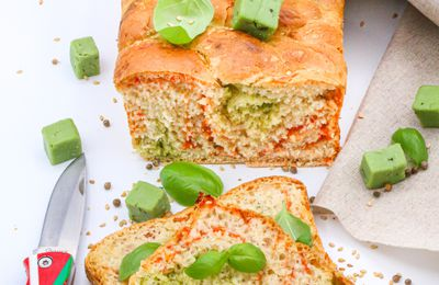Pain au pesto & tomate Healthy