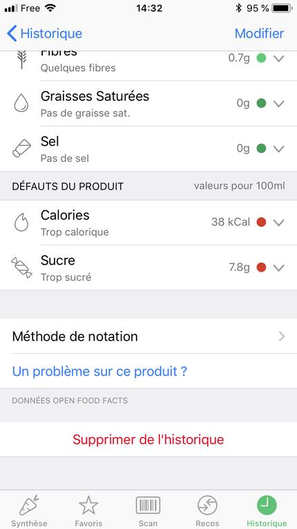 Les applications autour de votre alimentation (partie 2)