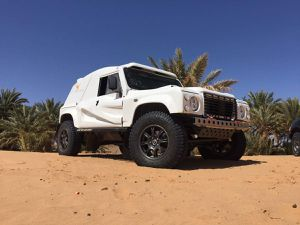 Notre BOWLER : une voiture taillée pour l'aventure