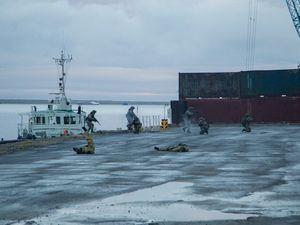 La libération de DUDINKA par la Flotte Arc... la Flotte du Nord